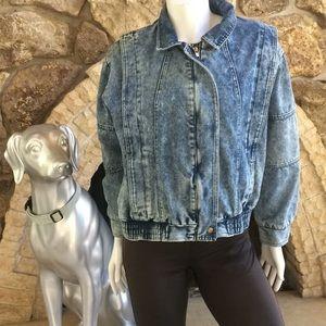 Vintage Ruth Douglas Oversized Jean Jacket